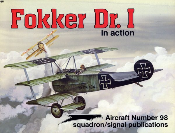 sq1098 Fokker Dr.I in action