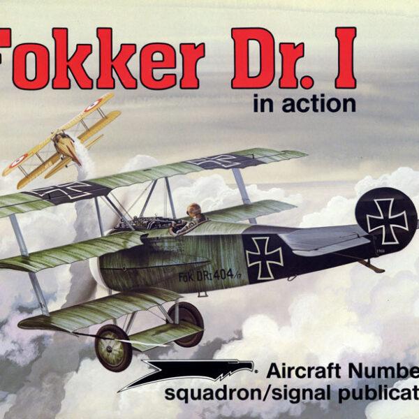 sq1098 Fokker Dr.I in action