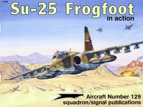 sq1129 Su-25 Frogfoot in action