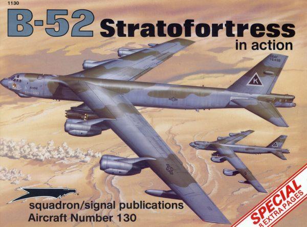 B-52 Stratofortress in action Estudio del desarrollo y empleo del FB-52 Stratofortress. 58 páginas.Incluye planos,perfiles a color y fotografías en blanco y negro.Texto en inglé