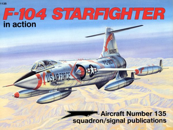 sq1135 f-104 starfighter in action