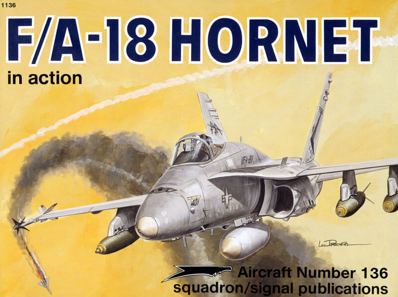 sq1136 F/A-18 Hornet in action