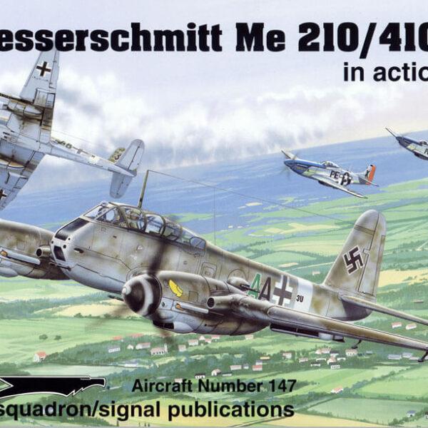 sq1147 Messerschmitt Me210 Me 410 in action