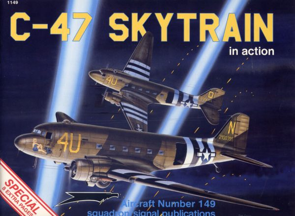 sq1149 C-47 Skytrain in action