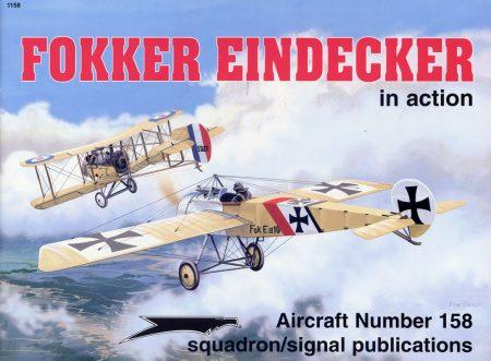 sq1158 Fokker Eindecker in action