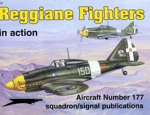 sq1177 Reggiane Fighters in action