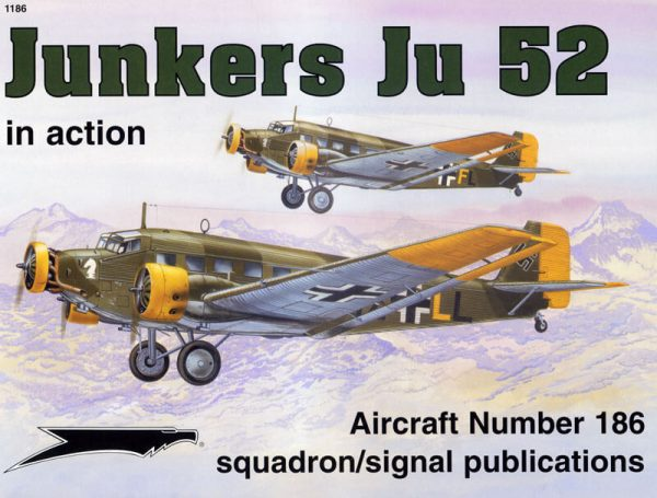 sq1186 Junkers Ju52 in action