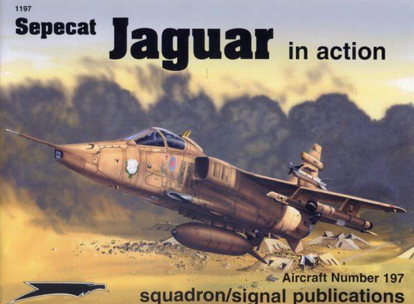 sq1197 Sepecat Jaguar in action