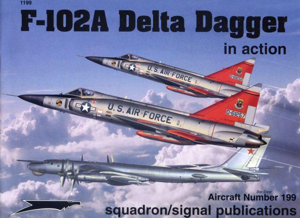 sq1199 F-102A Delta Dagger in action