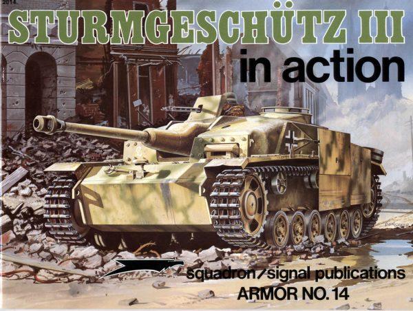 Sturmgeschütz III in action