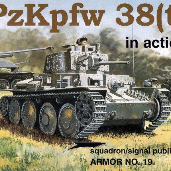 PzKpfw 38(t) in action
