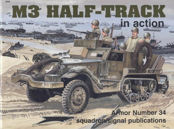 squadron 2034 M3 Half-track in action