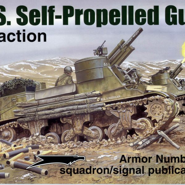 US Self-Propelled Guns in action