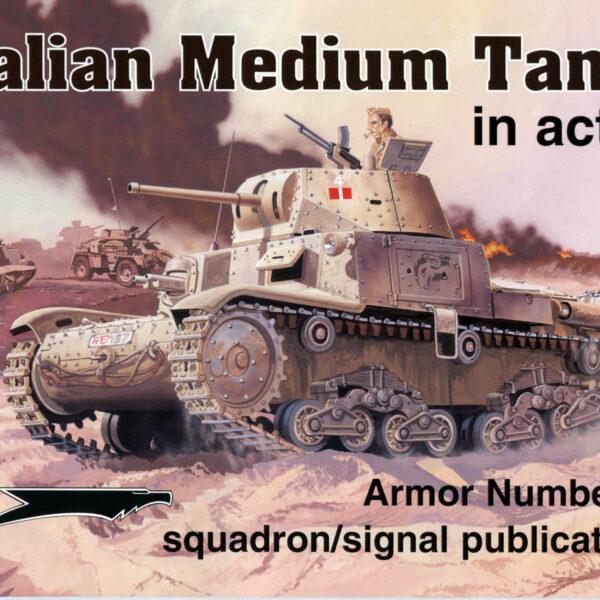 Italian Medium Tank in action