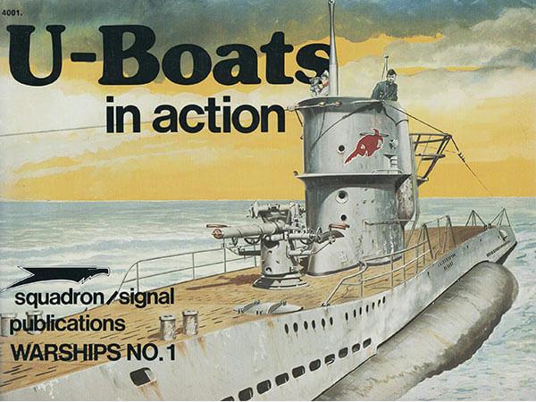 4001 U-Boats in action Estudio fotográfico de la evolución del submarino alemán durante la segunda guerra mundial. Fotos en blanco y negro, diagramas y perfiles a color. 50 páginas,texto en inglés.