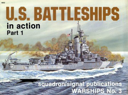 US Battleships in action