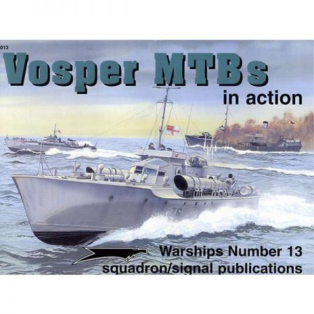 squadron 4013 Vosper MTBs in action