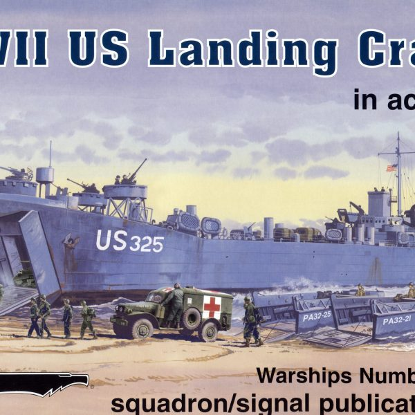 WWII US Landing Craft in action