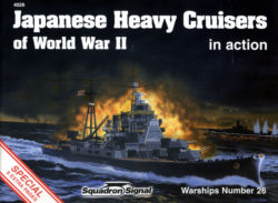 squadron 4026 Japanese Heavy Cruisers of WW II