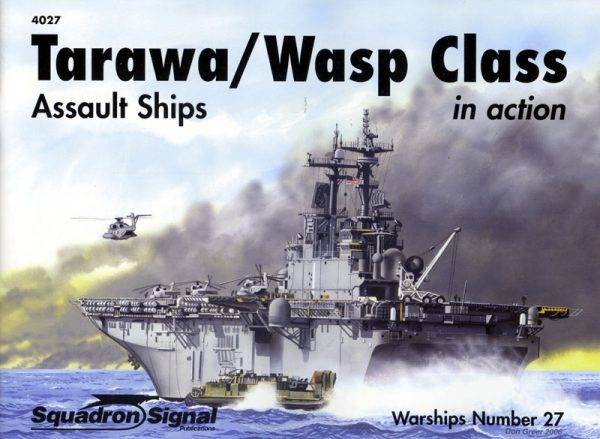 Tarawa-Wasp Class assault ships in action