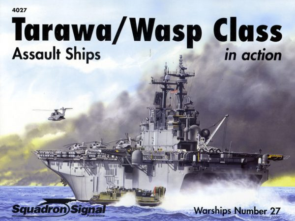 Tarawa-Wasp Class assault ships in action