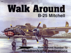 sq5512 Walk Arround: B-25 Mitchell