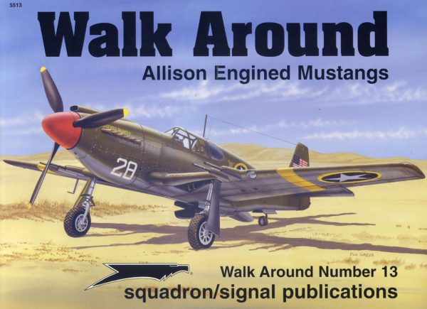 Walk Arround: Allison Engine Mustangs
