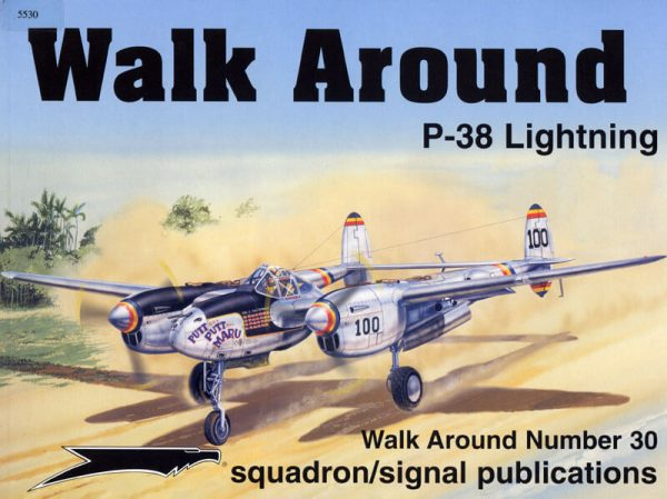 sq5530 Walk Arround: P-38 Lightning