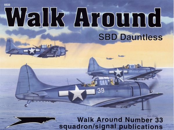 sq5533 Walk Arround: SBD Dauntless