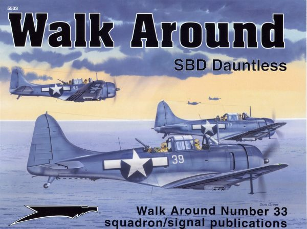 sq5533 Walk Arround: SBD Dauntless
