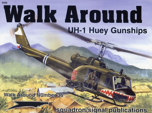 sq5536 Walk Arround: UH-1 Huey Gunships