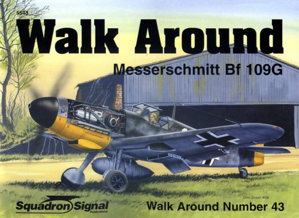Walk Arround: Messerschmitt Bf109G
