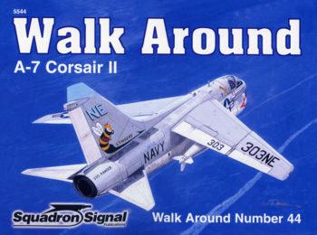 sq5544 Walk Arround: A-7 Corsair II
