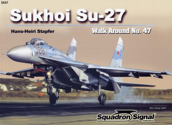 sq5547 Walk Arround: Sukhoi Su-27