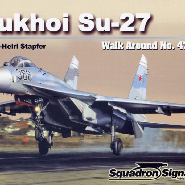 sq5547 Walk Arround: Sukhoi Su-27