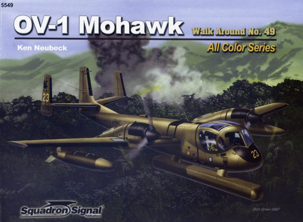 sq5549 Walk Arround: OV-1 Mohawk