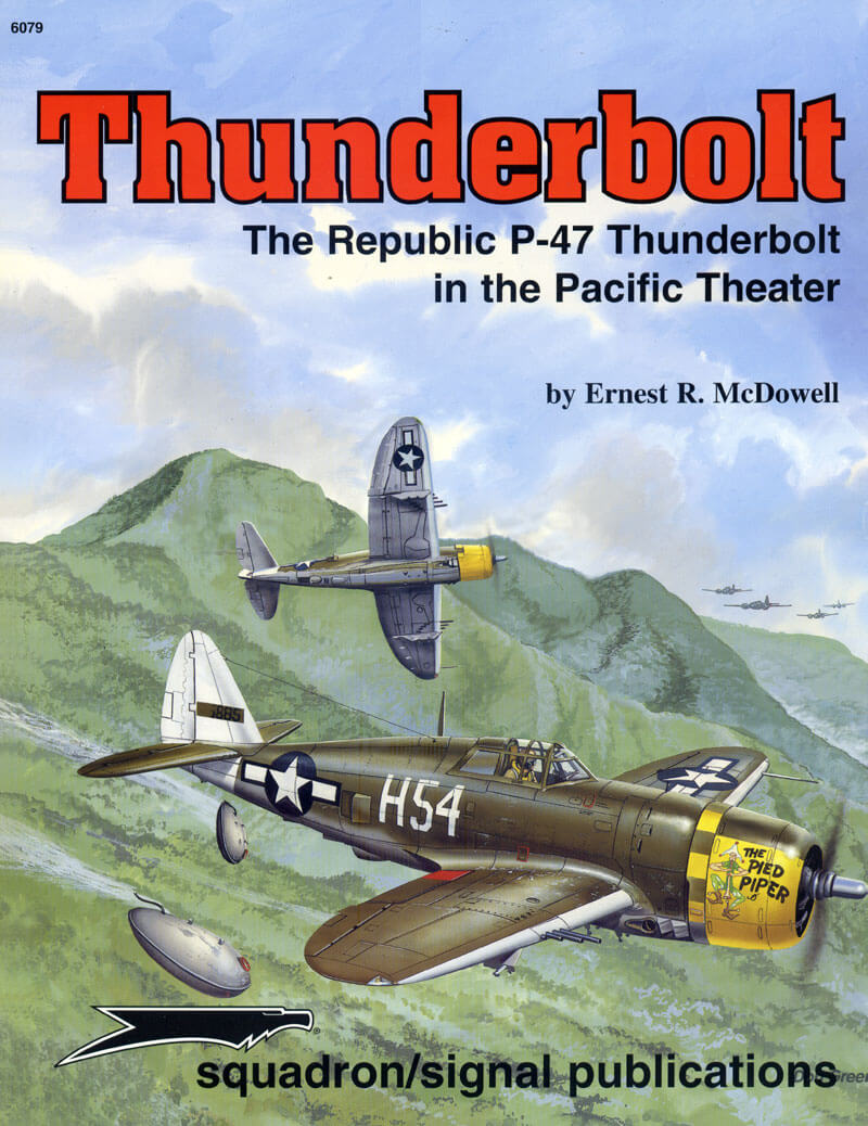 sq6079 The Republic Thunderbolt in the Pacific Theater