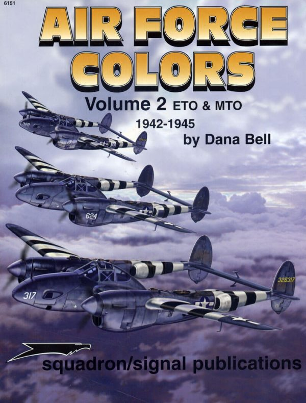 sq6151 Airforce Colors Vol.2 ETO & MTO 1942-45