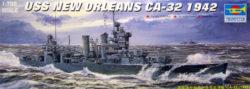 trumpeter 05742 USS New Orleans CA-32 1942 1/700 Kit en plástico para montar y pintar.