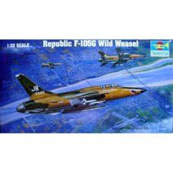 trumpeter 02202 Republic F-105G Wild Weasel