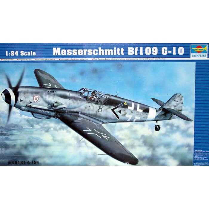 trumpeter 02409 Messerschmitt Bf109G-10