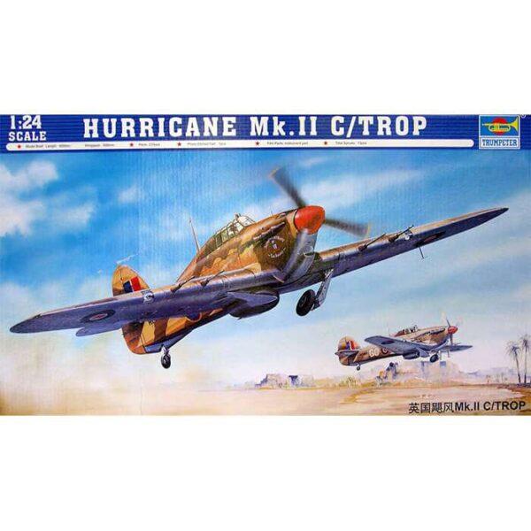 trumpeter 02416 Hurricane Mk II C Troop