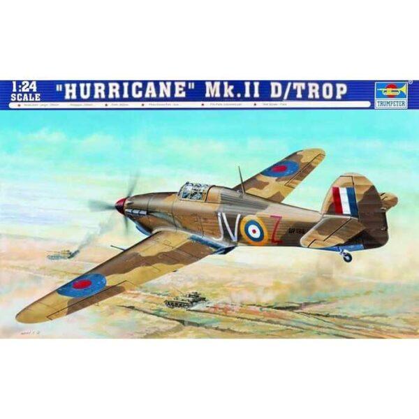 trumpeter 02417 Hurricane Mk II D Trop