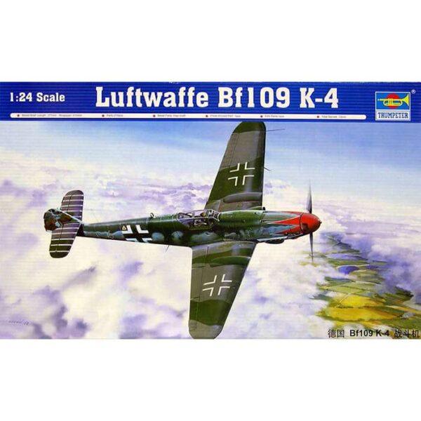 trumpeter 02418 Messerschmitt Bf109K-4