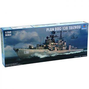 trumpeter 4541 PLAN DDG-138 TAIZHOU 1/350 Kit en plástico para montar y pintar. Incluye piezas en fotograbado.
