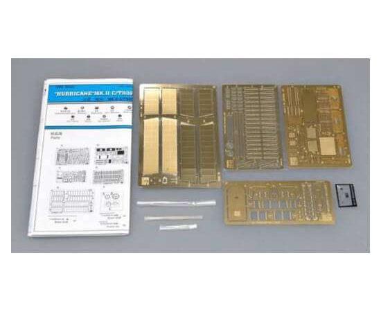 trumpeter 6604 Hurricane Mk II C Trop Photoeched parts set