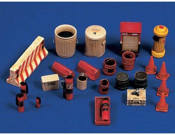 verlinden 2568 Accesorios de Aereopuerto 1/48 Kit en resina para montar y pintar.