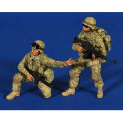 verlinden productions 2658 Iraq Afghanistan Firepower Kit en resina para montar y pintar.