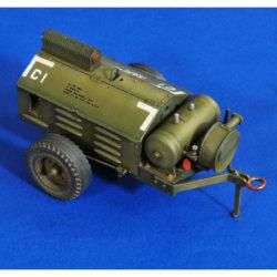 verlinden productions 2756 Airbase compressor Kit en resina para montar y pintar. Calcas no incluidas.