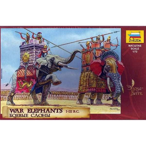 zvezda 8011 War Elephants III-I bc